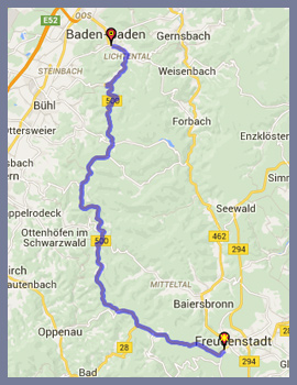 Scenic Driving Routes Route 500 Schwarzwald Hochstrasse