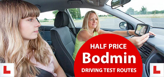 download bodmin driving test routes to satnav and mobile