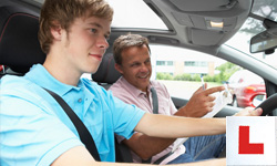lessons for driving test row
