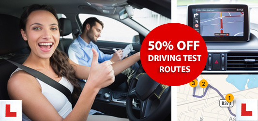download St Helen's satnav and mobile driving test routes